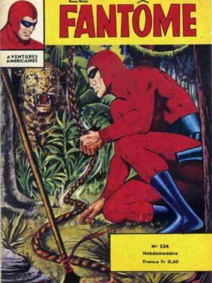 LE FANTOME N° 234 Le volcan éteint – Remparts 1969