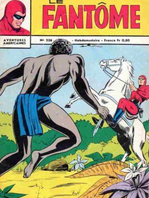 LE FANTOME N° 238 A la recherche de l'épave – Remparts 1969