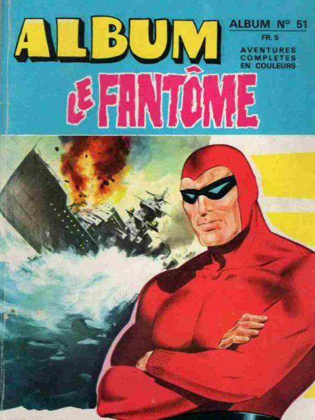 BD Le Fantôme - Phantom Album 51 - Lee Falk - Sy Barry