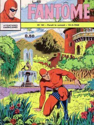 LE FANTOME N° 181 Le paradis des assassins – Remparts 1968