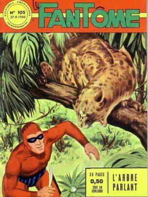 LE FANTOME N° 105 L'arbre parlant – Remparts 1966