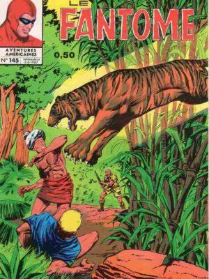 LE FANTOME N° 145 Vol du trésor de l'Ombre – Remparts 1967