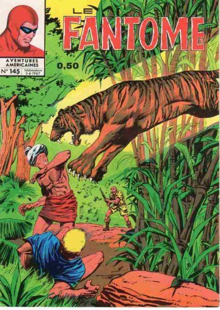 bd Le Fantôme N°145 Vol du trésor de l'Ombre - Lee Falk - Remparts
