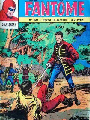 LE FANTOME N° 150 Les hauts fonds de Karwan – Remparts 1967