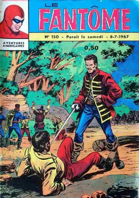 bd Le Fantôme N°150 Les hauts fonds de Karwan - Lee Falk - Remparts