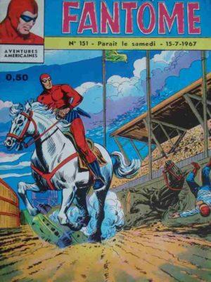 LE FANTOME N° 151 Course infernale – Remparts 1967