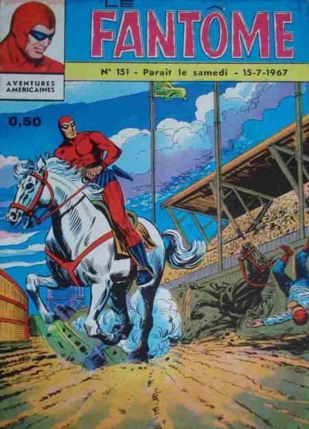 bd Le Fantôme N°151 Course infernale - Lee Falk - Remparts