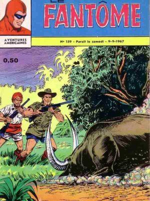 LE FANTOME N° 159 Fureur sauvage – Remparts 1967