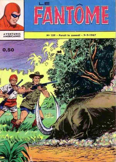bd Le Fantôme N°159 Fureur sauvage - Lee Falk - Remparts