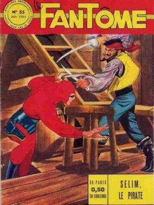LE FANTOME N° 55 Selim le pirate – Remparts 1965