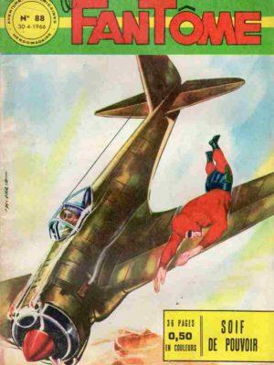 LE FANTOME N° 88 – Soif de pouvoir – Remparts 1966