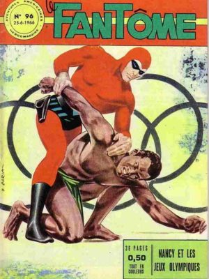 LE FANTOME N° 96 Nancy et les Jeux Olympiques – Remparts 1966