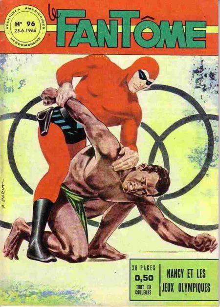 bd Le Fantôme N°96 Nancy et les Jeux Olympiques - Lee Falk - Remparts
