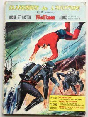 Classiques de l'Aventure N° 13 – Le Fantôme – La Lagune aux Requins