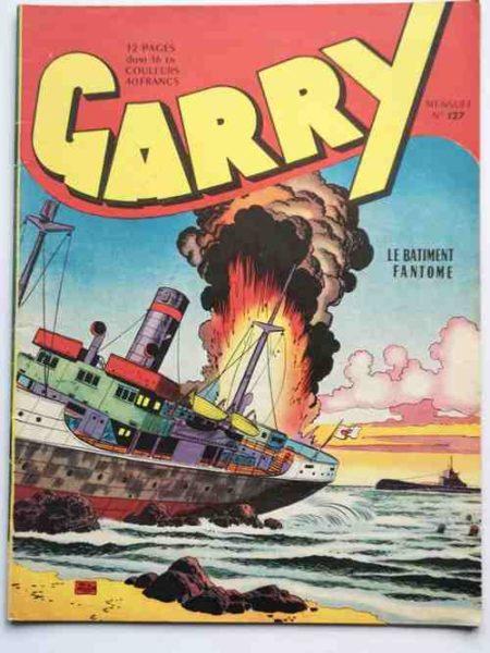 (BD) GARRY N° 127 Le bâtiment fantôme (par Félix Molinari) Spike et Dusty