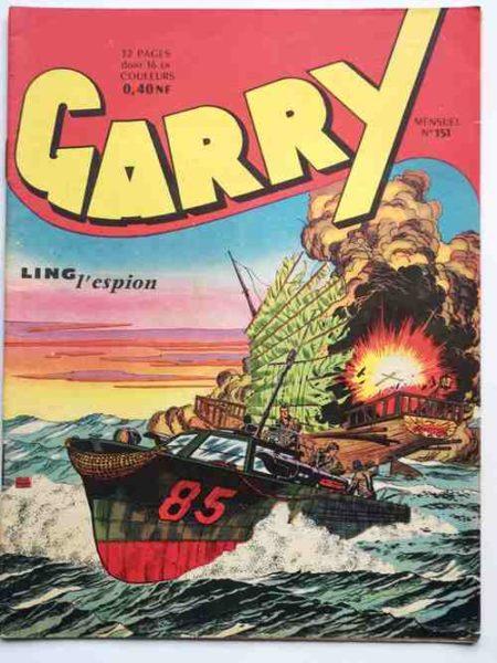 (BD) GARRY N° 151 Ling L'espion - Félix Molinari - Bob Roy - IMPERIA 1959