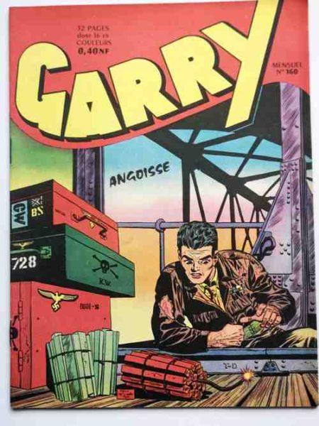 (BD) GARRY N° 160 Angoisse (par Félix Molinari) Rex Royal - IMPERIA