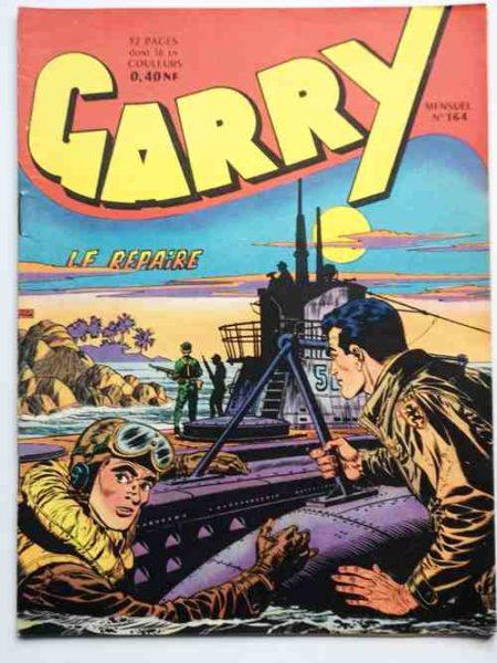 (BD) GARRY N° 164 Le repaire (Félix Molinari) IMPERIA 1962