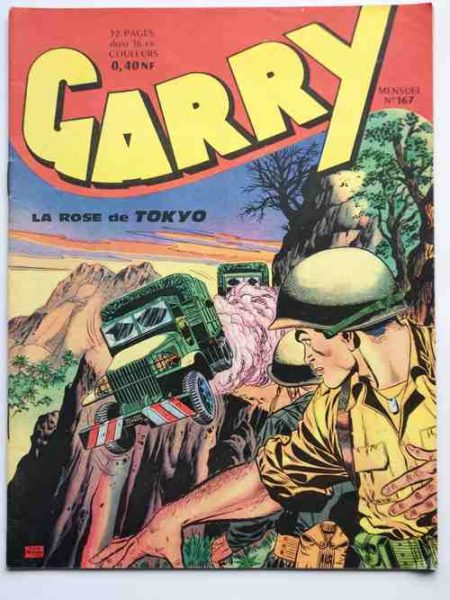 (BD) GARRY N° 167 La rose de Tokyo (Félix Molinari) Le géant Moa - IMPERIA