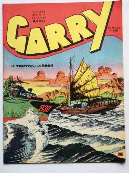 (BD) GARRY N° 169 Le tout pour le tout (Félix Molinari) - Editions IMPERIA