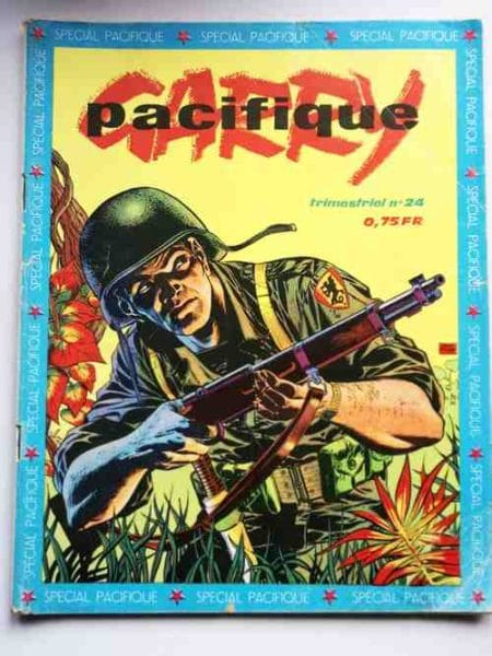 (BD) GARRY PACIFIQUE N° 24 La patrouille sacrifiée (guerre) IMPERIA