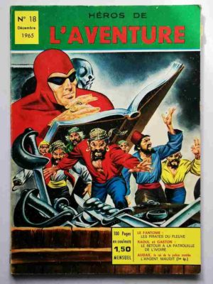 Héros de l'Aventure N° 18 Le Fantôme – Les Pirates du Fleuve