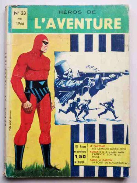 BD Héros de l'Aventure N° 23 Le Fantôme (Les derniers Guérilleros) Raoul et Gaston