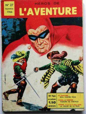 Héros de l'Aventure N° 27 Le Fantôme – Seul contre tous