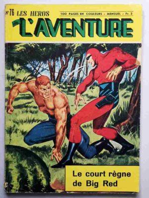 Héros de l'Aventure N° 76 Le Fantôme – Le court règne de Big Red