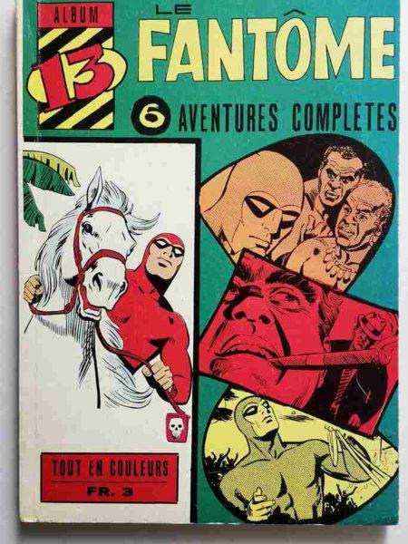 BD LE FANTOME Album 13 (N° 235-236-237-238-239-240) Lee Falk - Remparts