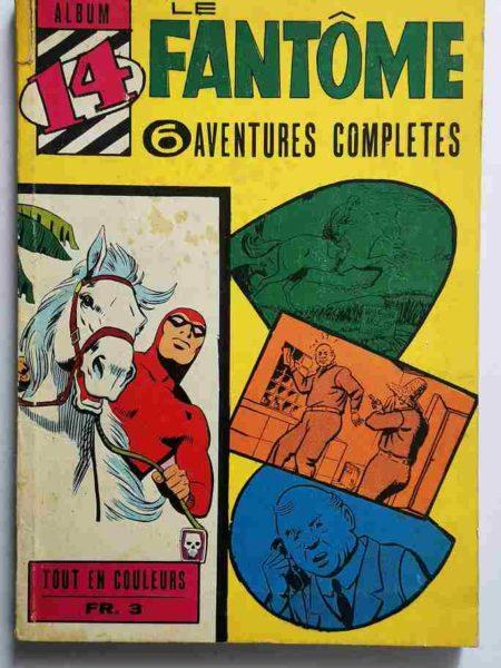 BD LE FANTOME Album 14 (N° 241-242-243-244-245-246) Lee Falk - Remparts