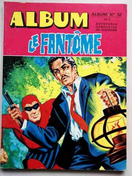 LE FANTOME Album 51 (N° 448-449) Remparts 1974