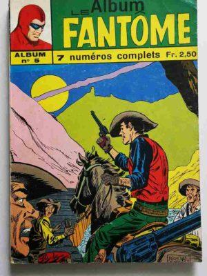LE FANTOME Album 5 (N° 181-182-183-184-185-186-187) Remparts 1968
