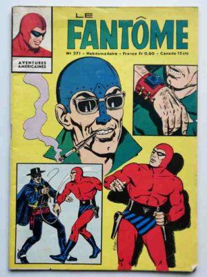 LE FANTOME N° 271 Un coup pour rien Mr Têtenfer – Remparts 1969