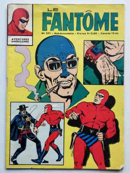 BD LE FANTOME N° 271 Un coup pour rien Mr Têtenfer - Remparts 1969