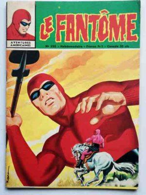 LE FANTOME N° 325 Le Chevalier des Justes – Remparts 1970