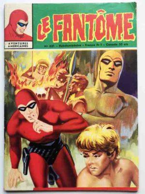 LE FANTOME N° 331 Une jeune fille dans la jungle – Remparts 1971