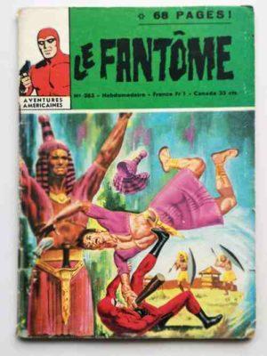 LE FANTOME N° 383 Le géant endormi – Remparts 1972