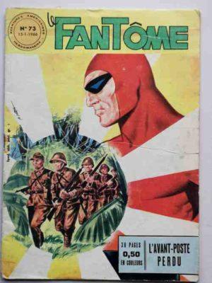 LE FANTOME N° 73 – L'avant-poste perdu – Remparts 1966