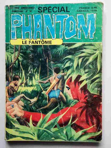 BD LE FANTOME (spécial) 3e série N° 14 Zaal, Cruelle Idole - Capitan Kate