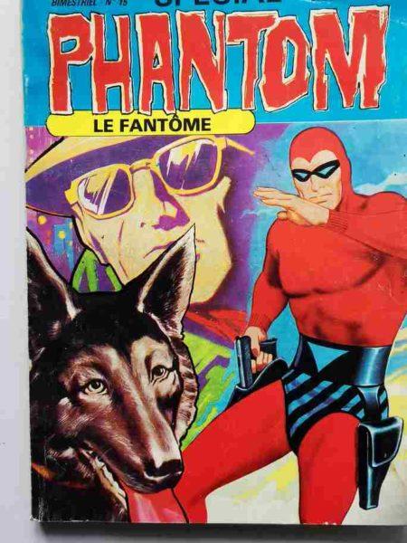BD LE FANTOME (spécial) 3e série N° 15 Le monstre HZZZ - Rip Kirby