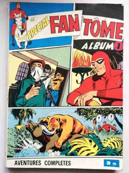 BD LE FANTOME (spécial) 1e série ALBUM 1 (N° 48-49-50)