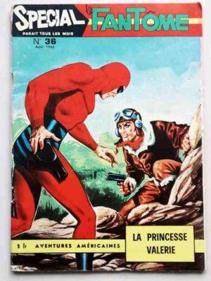 LE FANTOME (spécial) 1e série N° 36 La Princesse Valérie – REMPARTS 1966