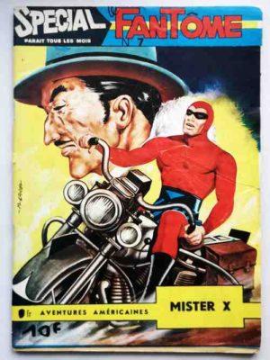 LE FANTOME (spécial) 1e série N° 7 Mister X – Remparts 1964