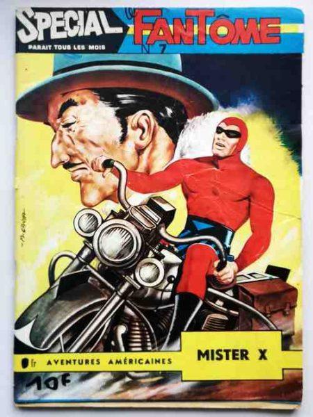 BD LE FANTOME (spécial) 1e série N° 7 Mister X