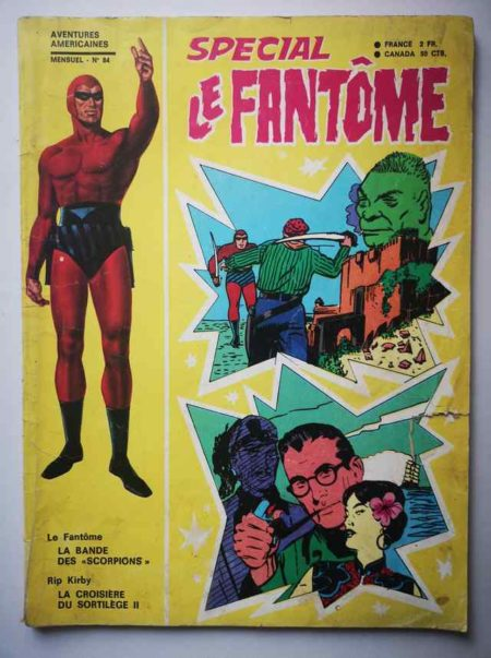 BD LE FANTOME (spécial) 1e série N° 84 La bande des Scorpions - Kip Kirby