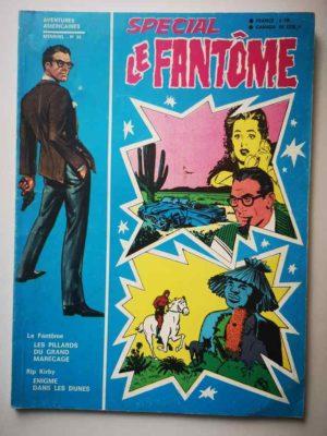 LE FANTOME (spécial) 1e série N° 85 Les pillards du grand marécage – REMPARTS 1970
