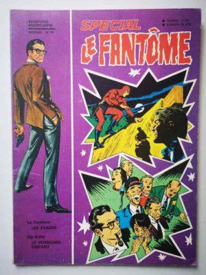 LE FANTOME (spécial) 1e série N° 90 Les évadés – REMPARTS 1971