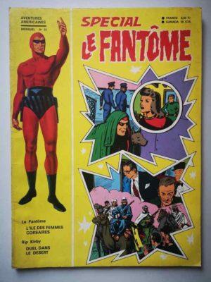LE FANTOME (spécial) 1e série N° 93 L'île des femmes corsaires – REMPARTS 1971