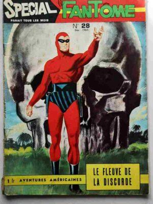 LE FANTOME (spécial) 1e série N° 28 Le fleuve de la discorde – REMPARTS 1965